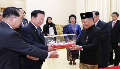 Foto Dubes RI Tingkatkan Kerja Sama Jakarta-Pyongyang usai Serahkan Surat Kepercayaan