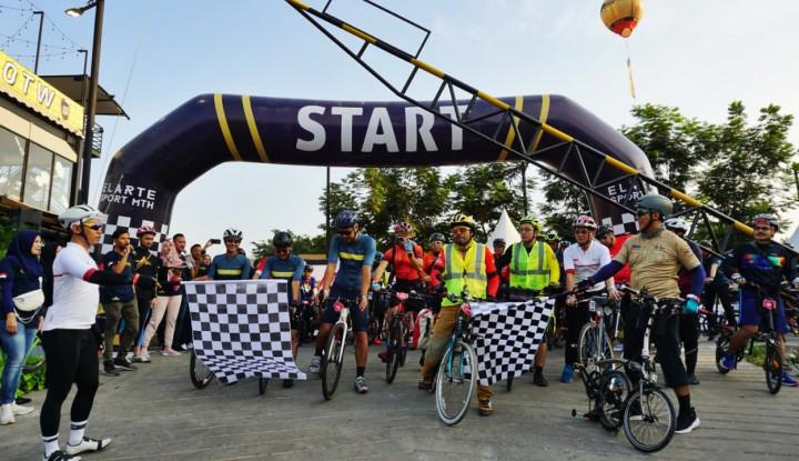 LRT City MT Haryono-The Premiere MTH Usung Konsep Ramah Bersepeda - Warta Ekonomi