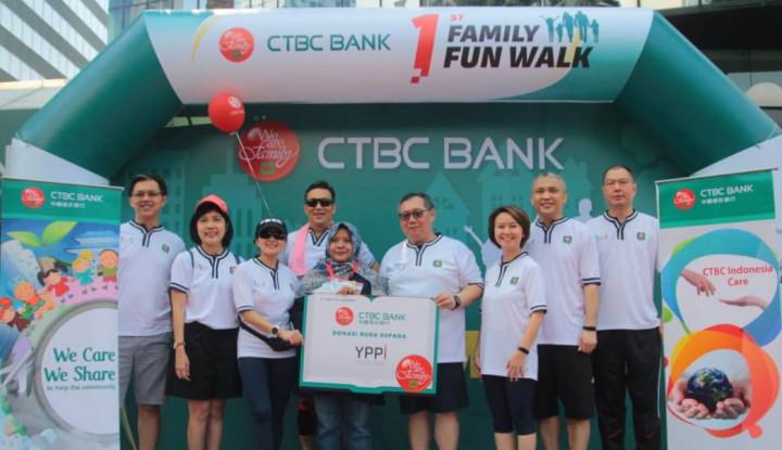 Bank CTBC Dukung Germas serta Peningkatan Literasi Baca - Warta Ekonomi