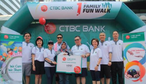 Bank CTBC Dukung Germas serta Peningkatan Literasi Baca