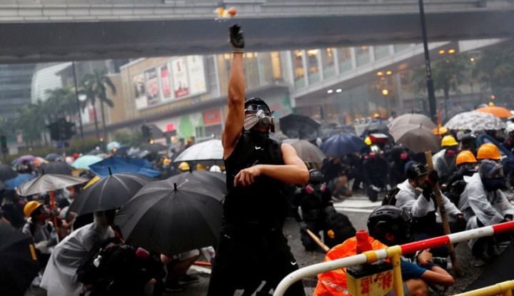 Ini Himbauan Kemlu RI kepada WNI yang ada di Hong Kong - Warta Ekonomi