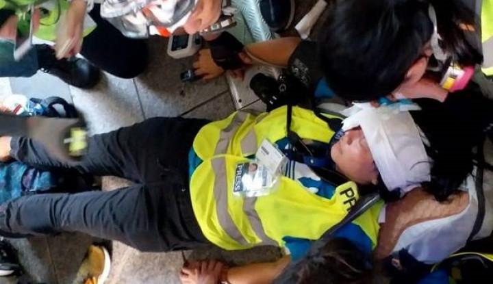 Terkait Kondisi Wartawan Indonesia yang Ditembak di Hong Kong, Kemenlu RI Bilang. . . - Warta Ekonomi