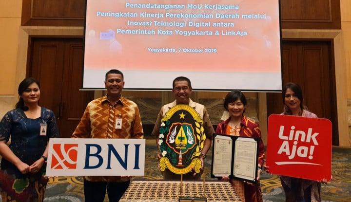 Makin Agresif, LinkAja Kini Gandeng Pemkot Yogyakarta - Warta Ekonomi