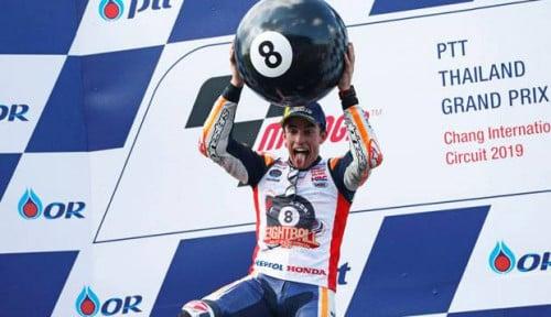 Foto Ancaman Nyata Yamaha dan Suzuki buat Marquez di GP Australia