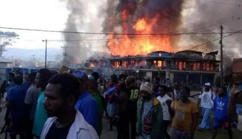 KKB Teroris Pembakar Sekolah dan Puskesmas di Papua Terindentifikasi, Ternyata Kelompok...