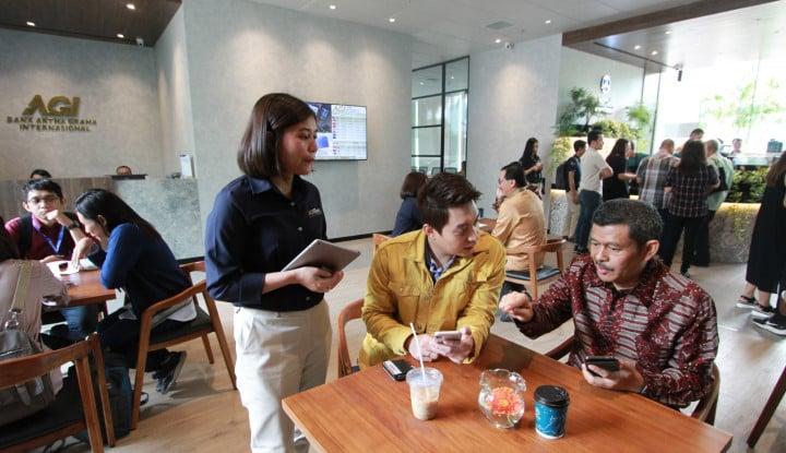 Bank Artha Graha Kenalkan Cafe Banking, Konsepnya Semi Coworking Space - Warta Ekonomi