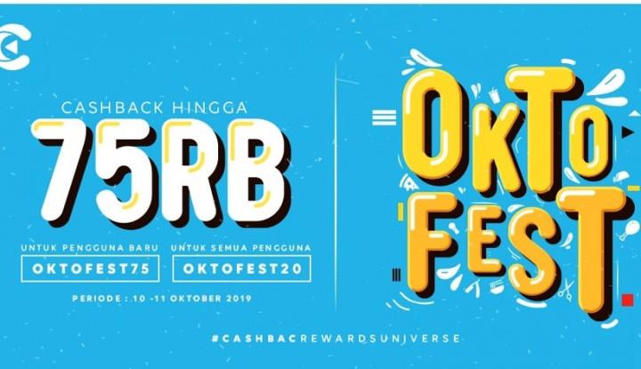 Catat Tanggalnya! Cashbac Hadirkan Oktober Fest untuk Ramaikan Promo Oktober - Warta Ekonomi