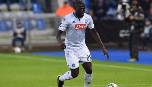 Foto Diminati Man United, Kalidou  Koulibaly Beri Jawaban