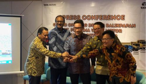 Foto Tambang Lagi Lesu, INTA Group Jual Produk Tata Motors di Kalimantan
