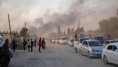 Foto PBB: Bencana Kemanusiaan Sedang Berlangsung di Suriah