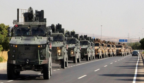 Foto Gagal Negosiasi, Erdogan: Perang Turki dan Suriah Sudah di Depan Mata