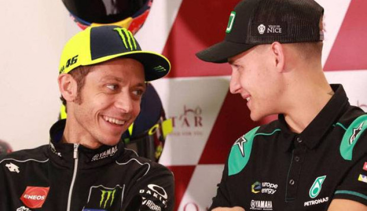 Pengamat MotoGP: Rossi dan Quartararo Bakal Duet 2021 - Warta Ekonomi