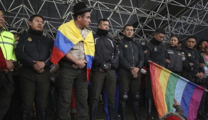 Situasi Memanas, Para Demontran di Ekuador Culik 8 Petugas Polisi - Warta Ekonomi