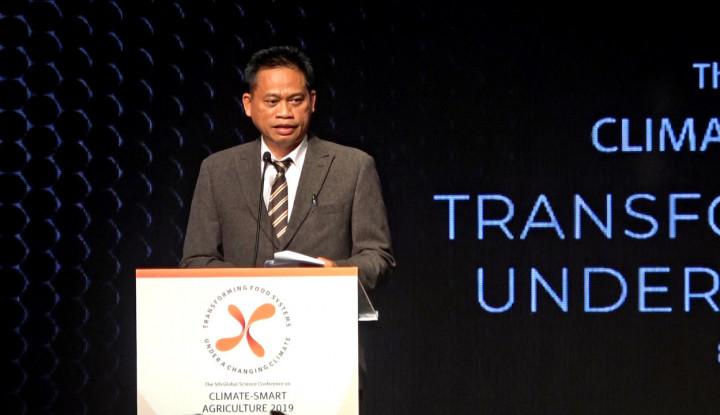 Di Konferensi Smart Agriculture, Indonesia Ajak Dunia Jaga Petani dari Perubahan Iklim - Warta Ekonomi