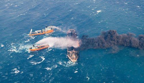 Geger Terbakarnya Kapal Latihan Angkatan Laut Iran, Kondisi Semua Awak...