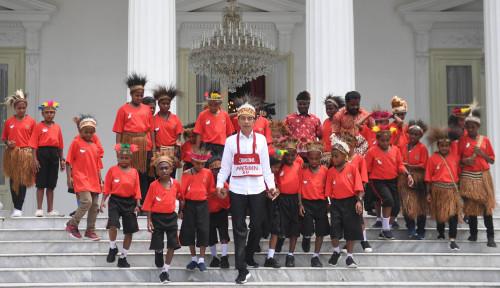 Foto Jokowi Bakal Blusukan ke Sentani dan Wamena