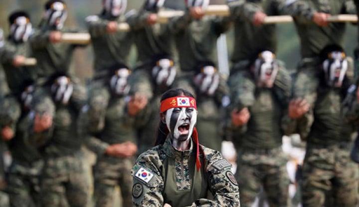 Korea Selatan Lakukan Pengurangan 100 ribu Prajurit Militer - Warta Ekonomi