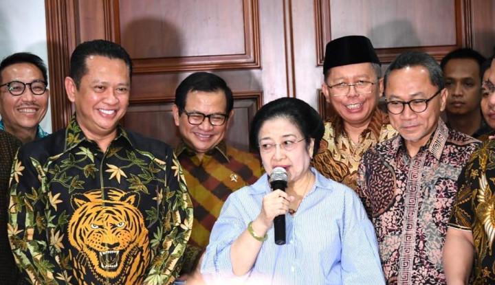 Bertemu Megawati, Pimpinan MPR Bahas Usulan Amandemen Terbatas UUD 1945 - Warta Ekonomi