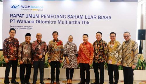 Foto Gelar RUPSLB, Wom Finance Ubah Susunan Direksi
