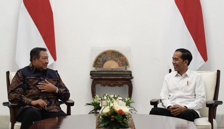 Jokowi Jilid II, SBY Jadi Pimpinan Oposisi? - Warta Ekonomi