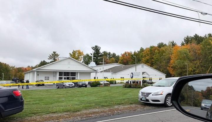 Gereja di New Hampshire AS Ditembak, 4 Orang Terluka - Warta Ekonomi