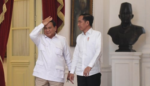 Foto Belum Bersikap, Prabowo Masih Nunggu Jatah?