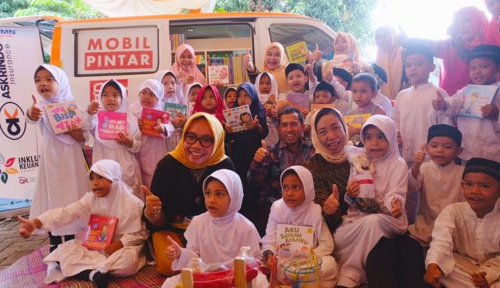 Komitmen Cetak Generasi Emas, Askrindo Serahkan Mobil Pintar di Aceh - Warta Ekonomi