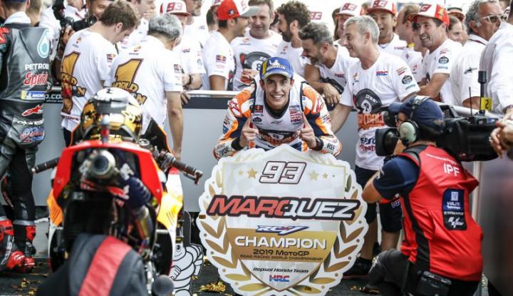 Prediksi Marquez Soal Pesaing dan Masa Depan di Honda - Warta Ekonomi