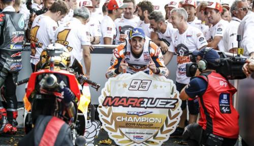 Foto Prediksi Marquez Soal Pesaing dan Masa Depan di Honda