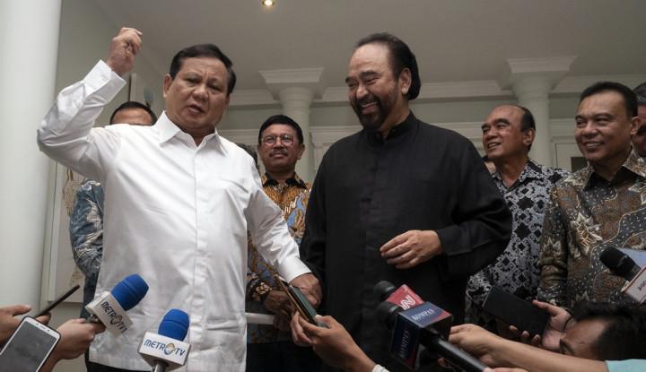 Survei Terbaru: Prabowo Keok Sama Anies Baswedan, AHY Nyungsep!