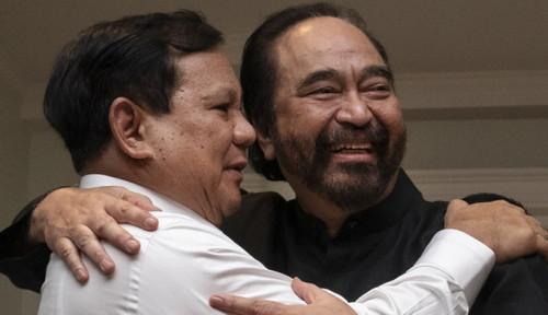 Foto Gerindra Gabung Jokowi, Paloh: Nggak Ada Masalah