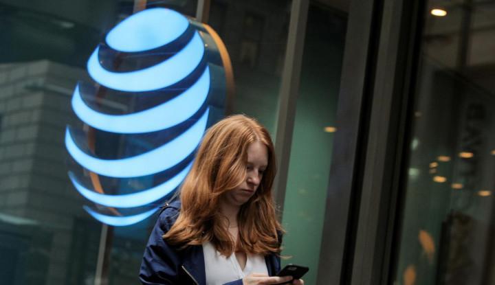 Utang Bertumpuk, AT&T Jual Aset US$1,95 Miliar - Warta Ekonomi