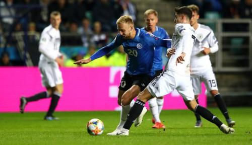 Foto Jerman Bantai Estonia 3-0, Ini Kata Manuel Neuer