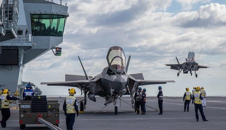 Masih Nyari Untung, AS Curi-curi Kesempatan Jual 12 Jet Tempur F-35B ke Singapura