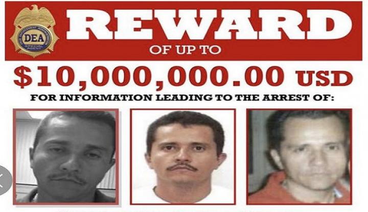 Diklaim Penerus El Chapo, Ketua Kartel Narkoba Meksiko Dihargai USD10 Juta - Warta Ekonomi