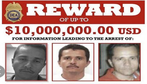 Foto Diklaim Penerus El Chapo, Ketua Kartel Narkoba Meksiko Dihargai USD10 Juta