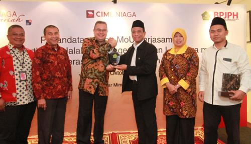 Foto CIMB Niaga Gandeng BPJPH Dorong Literasi Keuangan Syariah