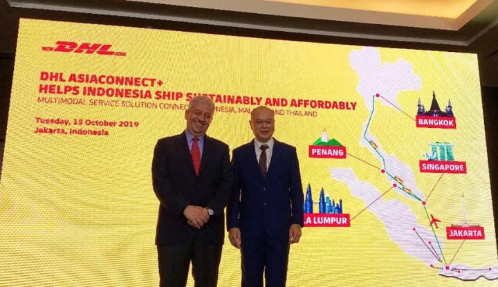 DHL Rilis Layanan Multimodal Hubungkan 3 Negara - Warta Ekonomi