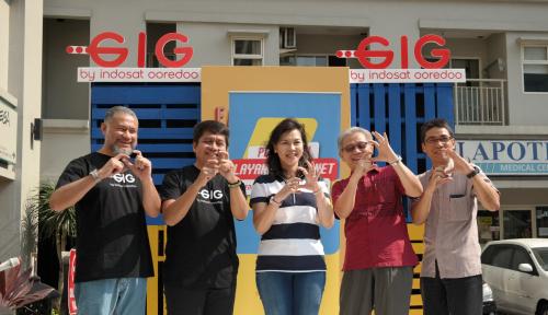 Foto GIG Home Hadir di Apartemen Agung Podomoro, Jamin Internet Kenceng dan Stabil