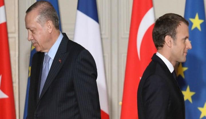 Ngeri! Akal Bulus Macron Kirim Tentara buat Perangi Erdogan Terungkap