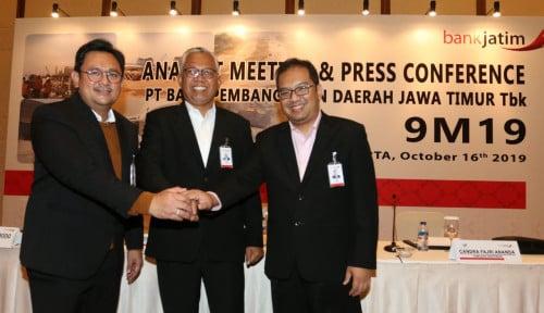 BJTM Kinerjanya Gemilang, Petinggi Bank Jatim Kasih Penjelasan Gini
