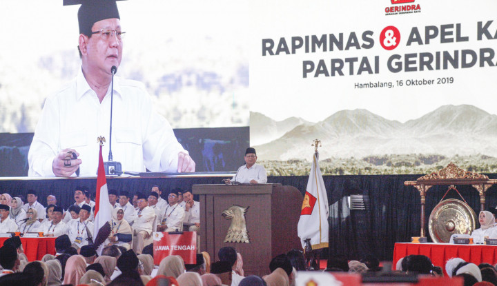 3 Sikap Politik Gerindra, Prabowo Nyatakan...!!! - Warta Ekonomi