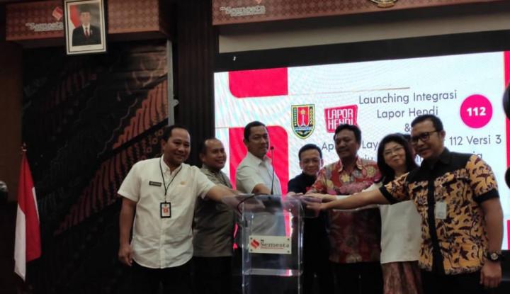Aplikasi Layanan Darurat 112 Jadi Solusi Smart City