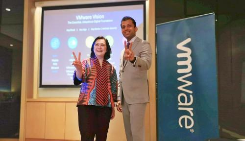 Foto Dukung Indonesia Jadi 10 Besar Kekuatan Ekonomi Dunia, VMware Kenalkan Sejumlah Inovasi