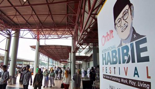 Foto Orbit Habibie Festival, Kenang Perjuangan Sang Bapak Teknologi Indonesia