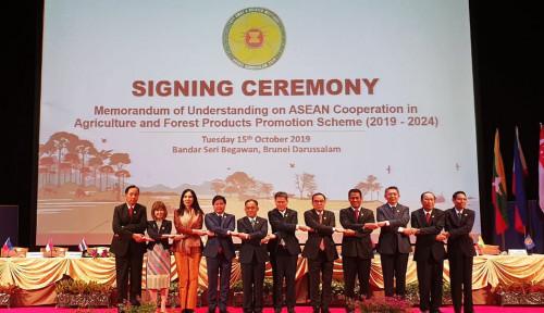 Foto Mentan Tegaskan Komitmen Indonesia untuk Pangan ASEAN