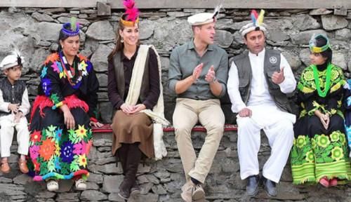 Foto Pangeran William dan Kate Middleton Kunjungi Pakistan, Ada Apa?