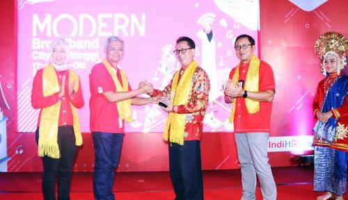 Foto Telkom Resmikan Modern Broadband City di Bukittinggi