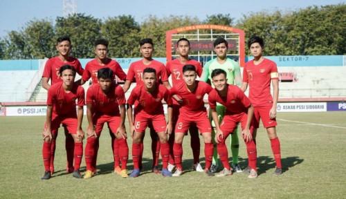 Foto Babak I: Timnas Indonesia U-19 Tertinggal dari Korut