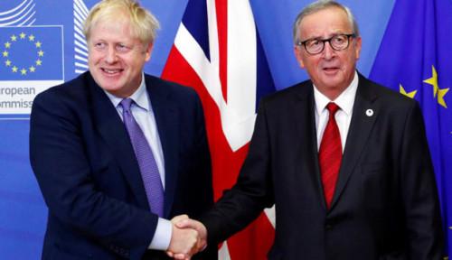 Foto Resmi, Uni Eropa Beri Dukungan Kesepakatan Brexit dengan Inggris